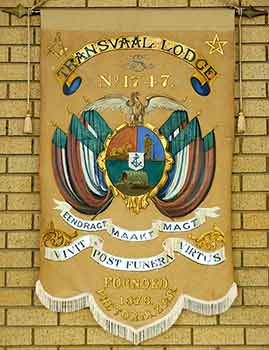 Transvaal Lodge Banner