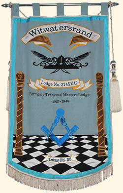 Witwatersrand Lodge Banner